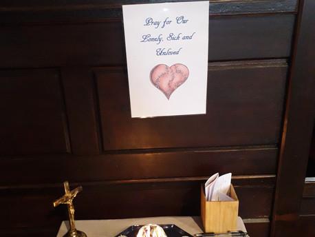 St Oswald's Prayer Sessions