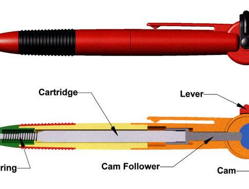 Flip Your Bic Pens