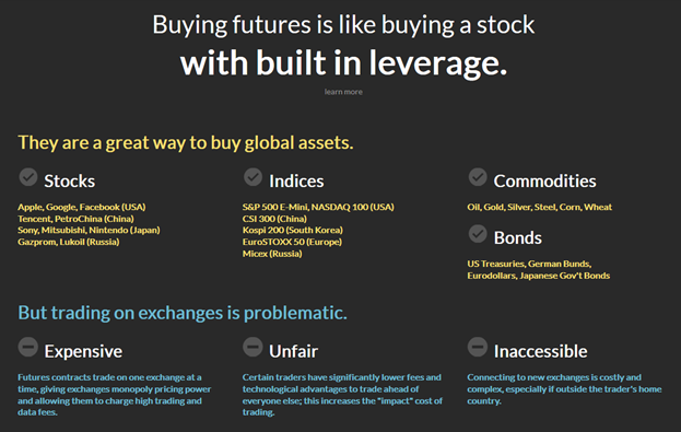 buying stocks and futures with evermarkets