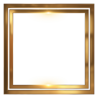 —Pngtree—abstract pattern golden frame_5415586.png