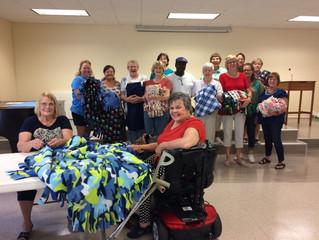 Blankets & Scarves for the Homeless