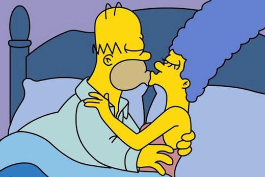 Personas a las que ha besado Homer Simpson.