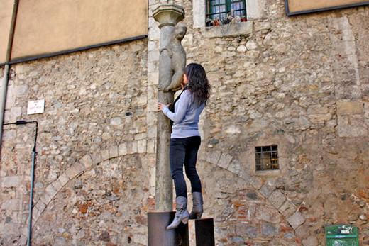 El culo más besado de Girona.
