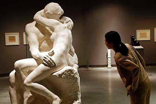 El beso de Rodin.