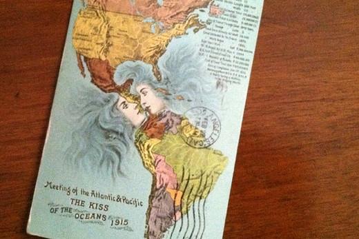 El beso de los océanos.