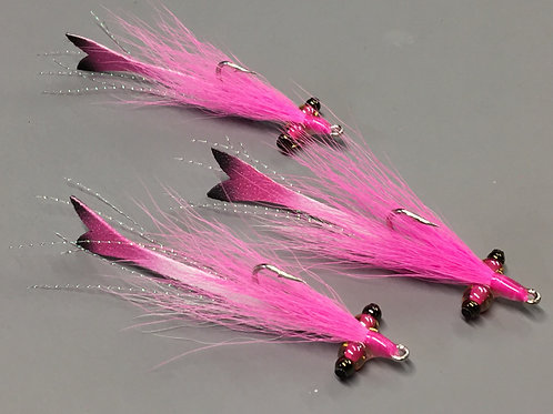 Glass Eye Half and Half Clouser Minnow Fly