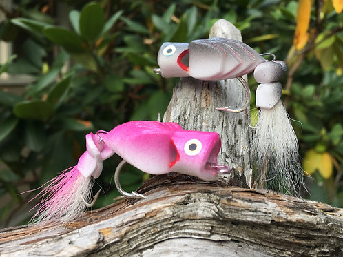 Coola Popper Fly 2/0-jointed , Custom color