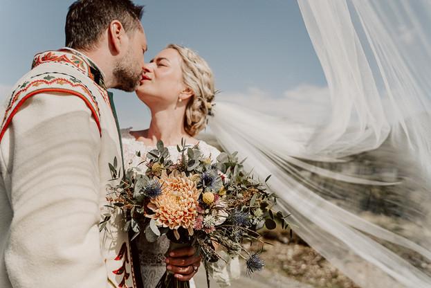 bryllup i Harahorn Hotel, Hemsedal