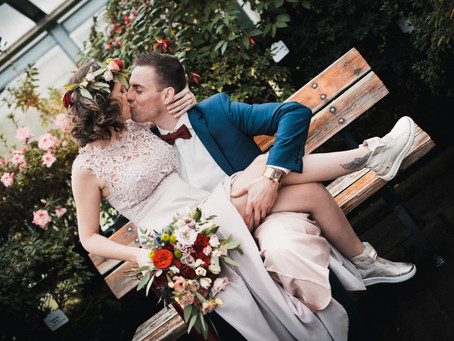 Don't take yourself to seriously - wedding story of Lena & Arvis