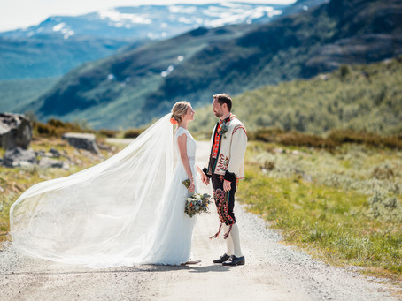 To dager bryllup i Harahorn Hotel, Hemsedal | Benedicte & Stein-Erik