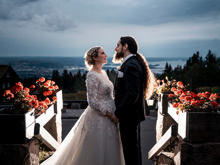 Bryllup i Holmenkollen kapell og Frognerseteren | Henriette & Antonio | 20. jul 2019.