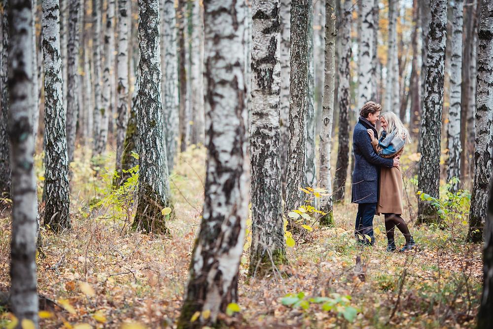 Forlovelse fotografering i Paradisbukta, Bygdøy