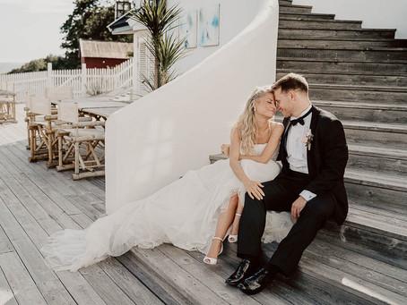 Bryllup på Nordstrand Kirke, Oslo og Villa Malla