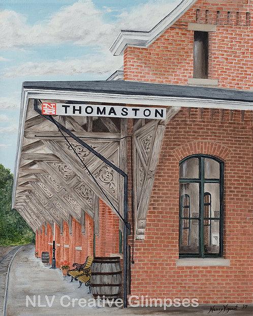 Thomaston CT Train Station