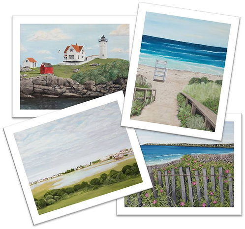 Maine Collection Note Cards / 4 pack with envelopes