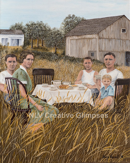 1927 picnic on 'The Farm'