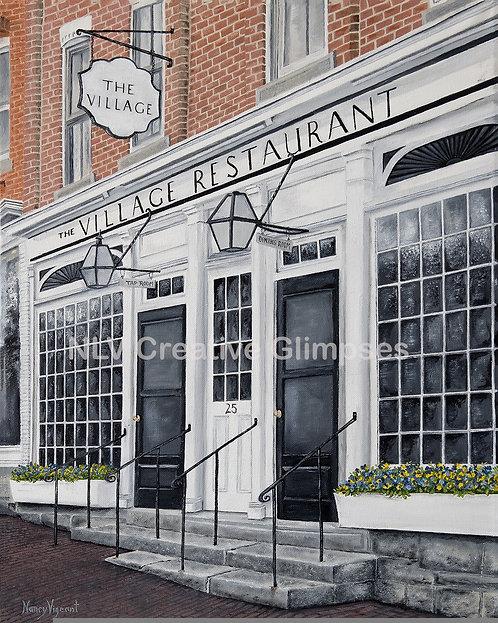The Village Restaurant, Litchfield, CT