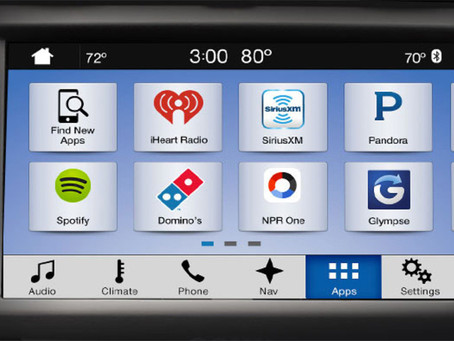 What Radio Looks Like on Ford's New Sync 3 for 2016