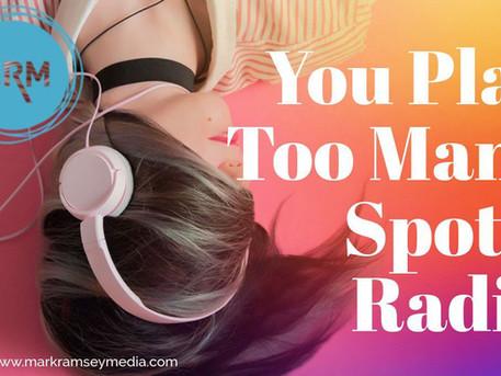 2 Minutes of Spots Per Hour – Radio's Future?