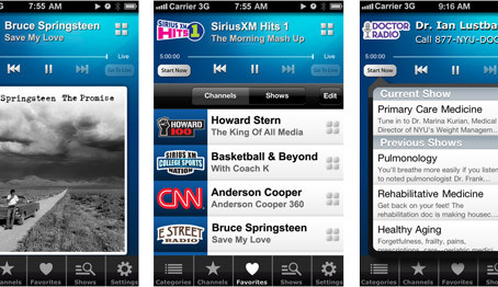 Why I like SiriusXM's new Mobile App