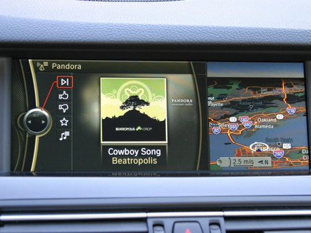 "Pandora now ""built in"" to all 2011 BMW vehicles"