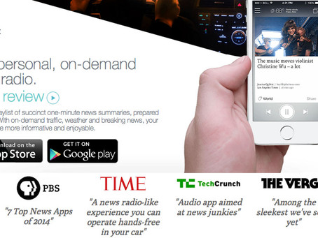 A Dramatic Reinvention of Mobile News/Talk Apps