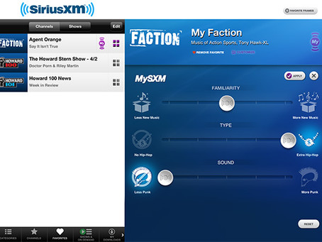 Sirius XM's Take on Personalization