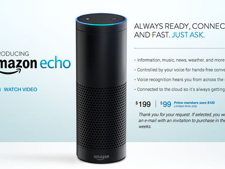 Amazon Just Reimagined the Table Radio – Amazon Echo