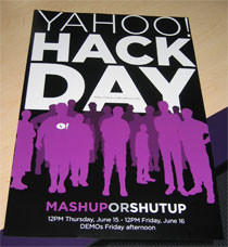 """When is YOUR """"Hack Day""""?"""