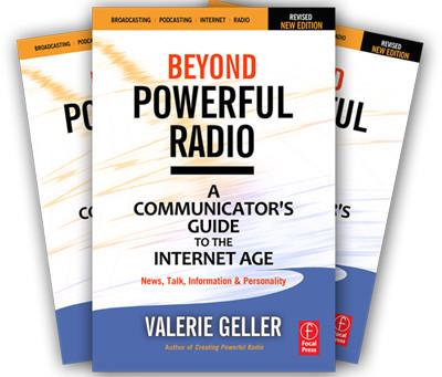 """Talent Coach Valerie Geller goes """"Beyond Powerful Radio"""" – Part 1"""