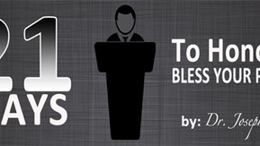 21 Ways To Honor Your Pastor