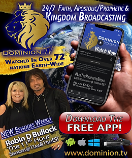 Elijah List Ad for Dominion.TV