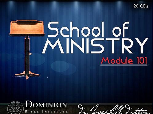 School of Ministry 101