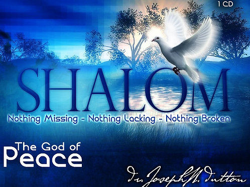 The Shalom of God