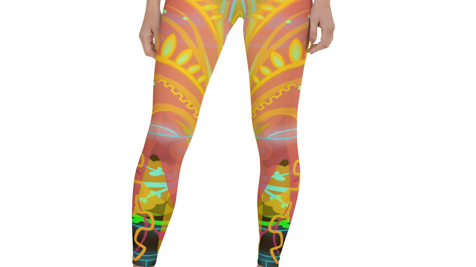 Soul Color Album Art Leggings