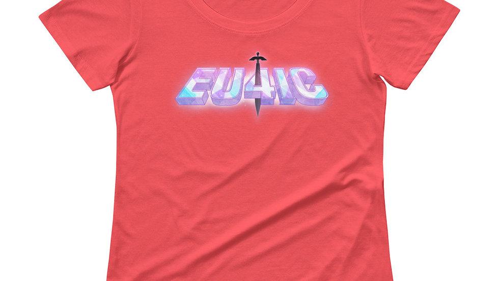 Eu4ic Logo - Pick a Color! Scoop Neck Tee