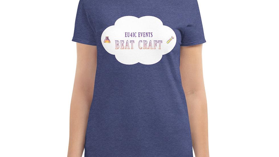 """Beat Craft"" Women's Fashion Fit T-Shirt (choose a color)"