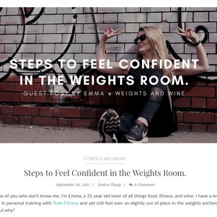 Magnafied Guest Blog Post: Steps to Feel Confident in the Weights Room