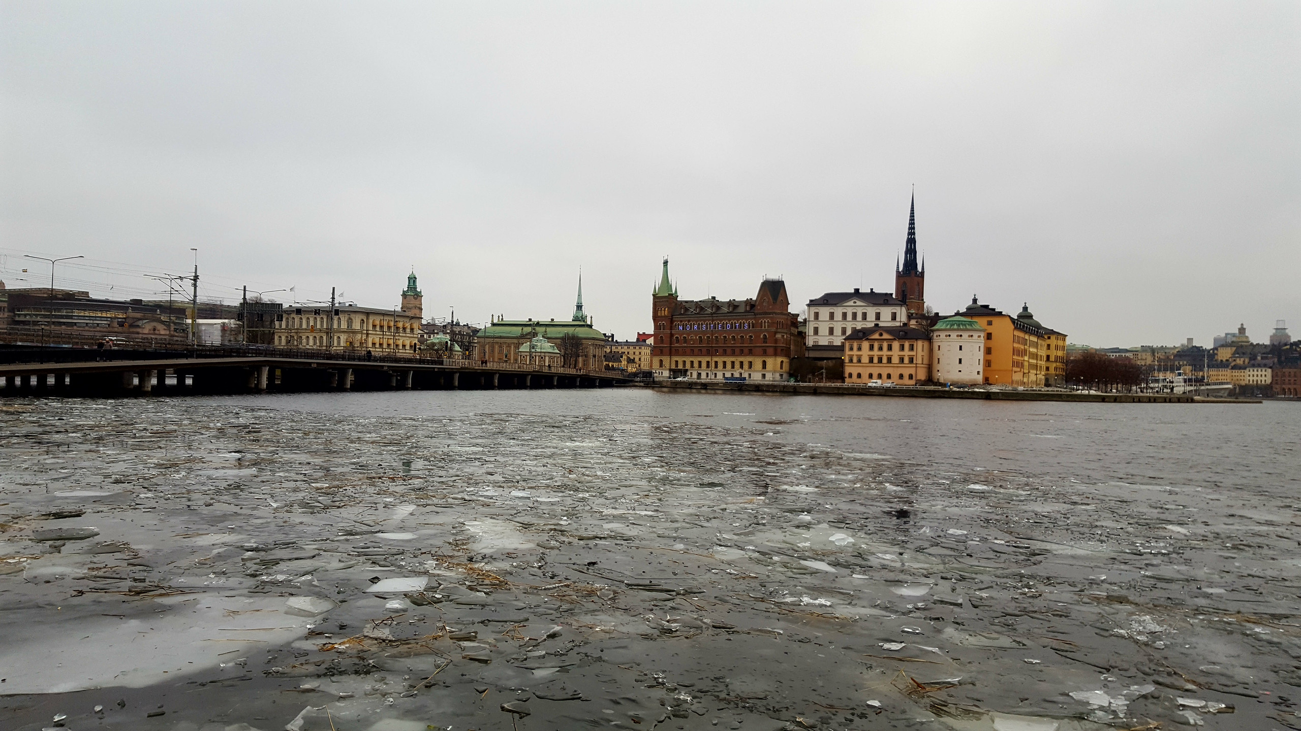 View of Gamla Stan, from City Hall