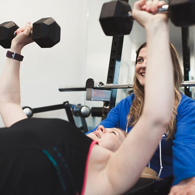 Female personal trainer manchester