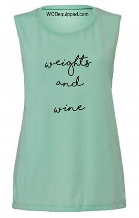 Weights & Wine Tank  £18.00