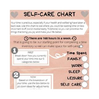 Self Care Chart