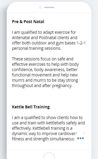 Female Personal Trainer Didsbury