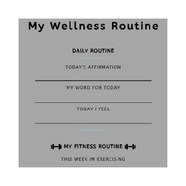 My Wellness Routine
