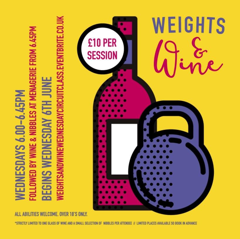 Weights & Wine Wednesday Circuit Class