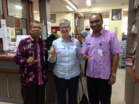Transforming the Library, Transforming the Society : Indonesia Library Association