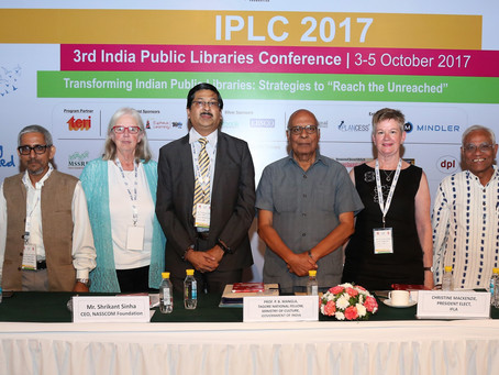 Highlights from the Indian Public Library Conference, New Delhi 3 -5 October 2017 – Part One