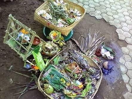 Banten Caru Ayam Brumbun Eka Sata