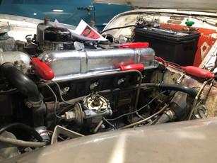1958 Triumph TR3A tune-up