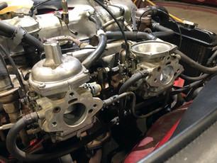 Triumph TR6 Carbs